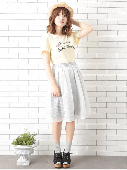 アースミュージックアンドエコロジーのTシャツ、スカート、カーディガン、シャツがセール!夏に向けて買い揃えよう!